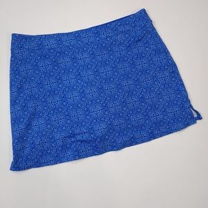 Tranquility by CO Blue Tennis Skort in Sz.XXL